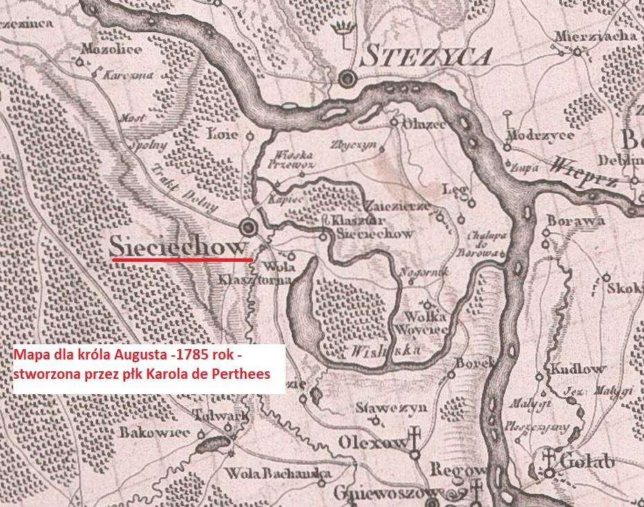 Znalezione obrazy dla zapytania: mapa sieciechowa 1785